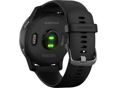 """GARMIN GPS-Multifunktionsuhr """"Vivoactive 4"""" Schwarz"""