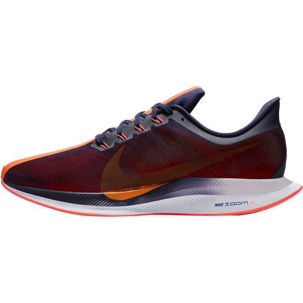 NIKE Herren Laufschuhe Zoom Pegasus 35 Turbo | Schuhe > Sportschuhe | Blue - Orange | Nike