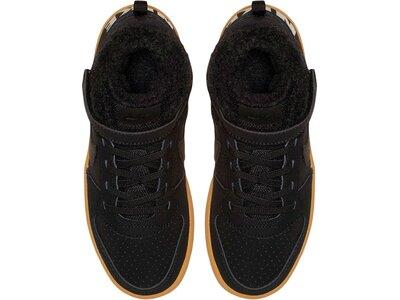 """NIKE Jungen Kleinkind Sneaker """"Court Borough Mid Winter"""" Schwarz"""