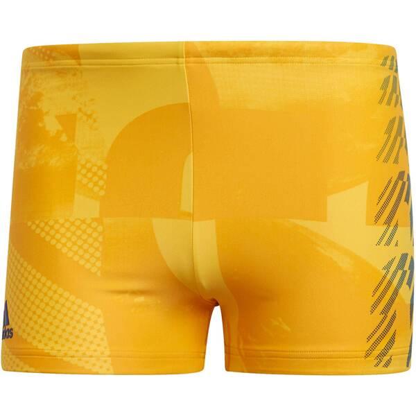 "ADIDAS Herren Badeshorts ""Fitness Placed Print Swim Boxer"""