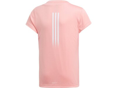 "ADIDAS Mädchen Fitness-Shirt ""Aeroready"" Kurzarm Rot"