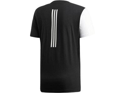 ADIDAS Herren Trainingsshirt Schwarz