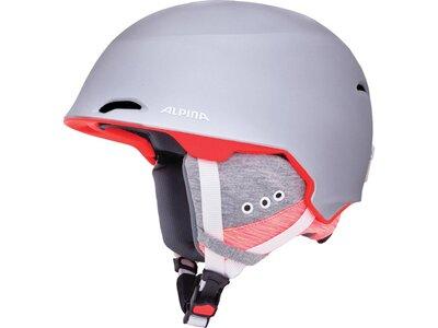 "ALPINA Skihelm / Snowboardhelm ""Alpina Maroi"" Silber"