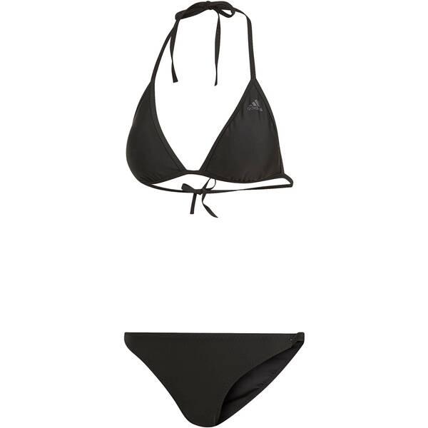 Bademode - ADIDAS Damen Triangle Bikini › Braun  - Onlineshop Intersport