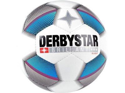 DERBYSTAR Equipment - Fußbälle Brillant S- Light 290 Gramm Trainingsball Grau