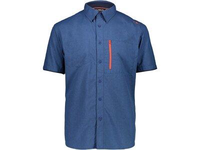 """CMP Herren Hemd """"Man Shirt"""" Kurzarm Blau"""