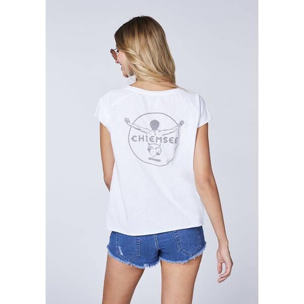 CHIEMSEE T-Shirt mit V-Ausschnitt