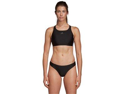 "ADIDAS Damen Bikini ""Fit 2PC 3S"" Schwarz"