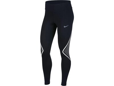 NIKE Damen Lauftights Power Schwarz