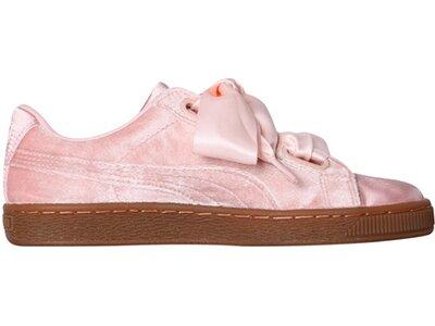 """PUMA Damen Sneaker """"Basket Heart VS"""" Pink"""