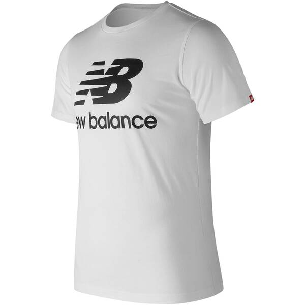 "NEWBALANCE Herren T-Shirt ""Essentials Stacked Logo Tee"""