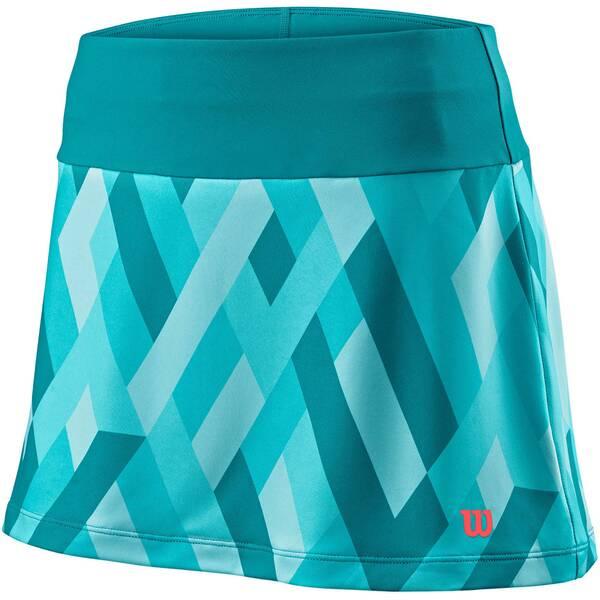 WILSON Damen Tennisrock UWII Print 12.5 Skirt | Sportbekleidung > Sportröcke > Tennisröcke | Wilson