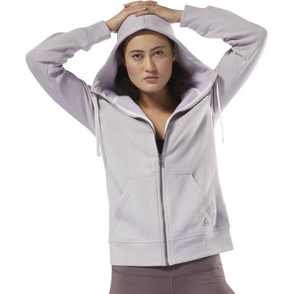 REEBOK Damen Training Essentials Fleece Full Zip Hoodie | Bekleidung > Sweatshirts & -jacken > Zip-Hoodies | Fleece | Reebok