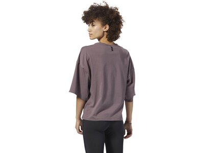 REEBOK Damen Training Supply Pocket Shirt Grau