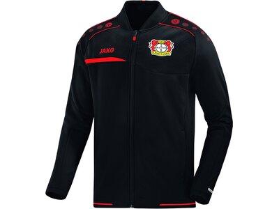 JAKO Herren Bayer 04 Leverkusen Einlaufjacke Schwarz