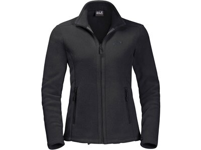 "JACKWOLFSKIN Damen Fleecejacke ""Moonrise"" Schwarz"