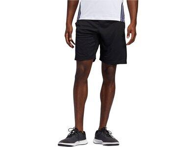 """ADIDAS Herren Fitnessshorts """"3S Knit Short"""" Schwarz"""