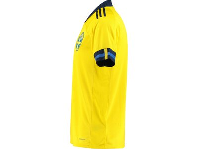 "ADIDAS Herren Fußballtrikot ""2021 Sweden Home Jersey"" Gelb"