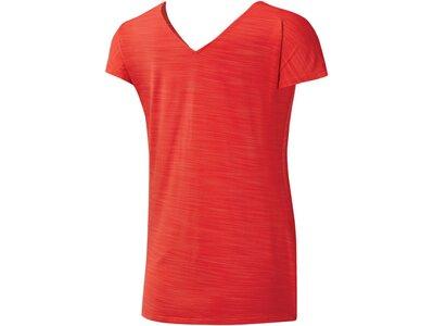 """REEBOK Damen Trainingsshirt """"Activchill"""" Kurzarm Rot"""