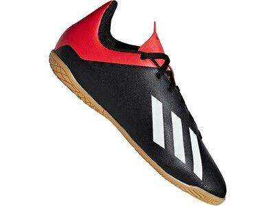 ADIDAS Fußball - Schuhe Kinder - Halle X 18.4 IN Halle J Kids Schwarz