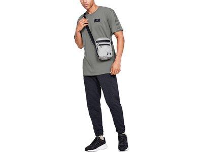 "UNDERARMOUR Herren Trainingsshirt ""Performance Shoulder"" Kurzarm Grau"
