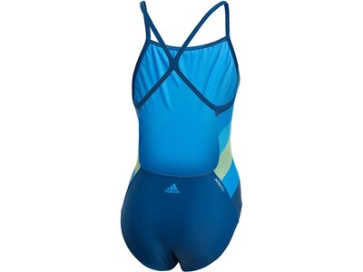 "ADIDAS Damen Badeanzug ""Athly light graphic swimsuit"" Braun"