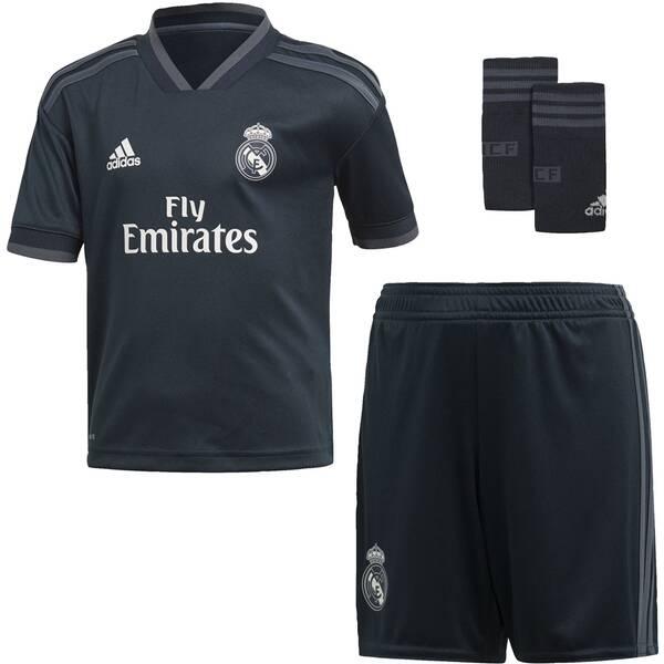 ADIDAS Kinder Real Madrid Mini-Auswärtsausrüstung