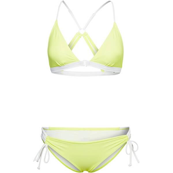 Bademode - CHIEMSEE Bikini mit Raffnaht am Unterteil › Gelb  - Onlineshop Intersport