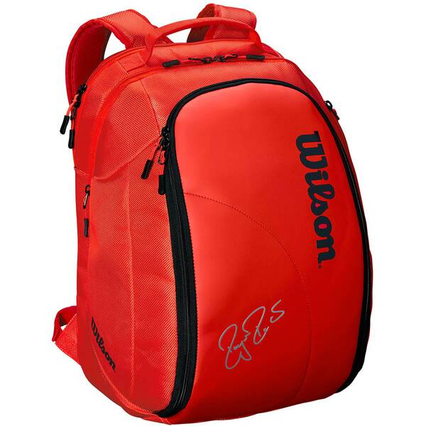 "WILSON Tennis-Rucksack ""Federer DNA 2018 Infrared"""