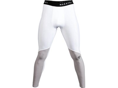 Sport-Leggings ' Performance Tights ' Weiß