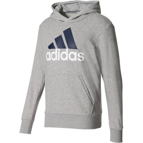 """ADIDAS Herren Sweatshirt mit Kapuze """"Essentials Linear Pullover Hood French Terry"""""""