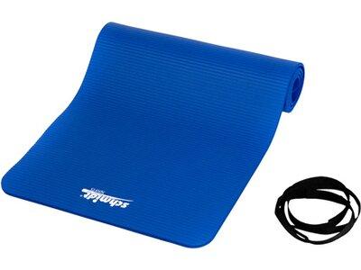 DEUSER Fitnessmatte / Gymnastikmatte Deuser Blau