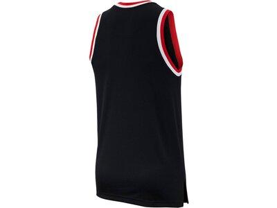 NIKE Herren Basketball Jersey M NK DRY CLASSIC JERSEY Schwarz