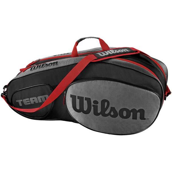 WILSON Tennis Schlägertasche Team III 6 Pack