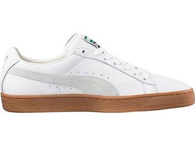 """PUMA Herren Sneaker """"Basket Classic Gum Deluxe"""" Weiß"""