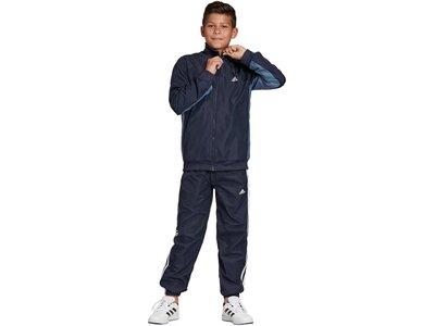 ADIDAS Jungen Trainingsanzug Weiß