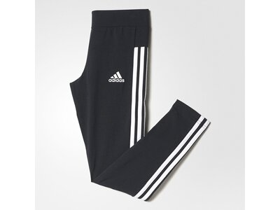ADIDAS Kinder Essentials 3-Streifen Tight Grau
