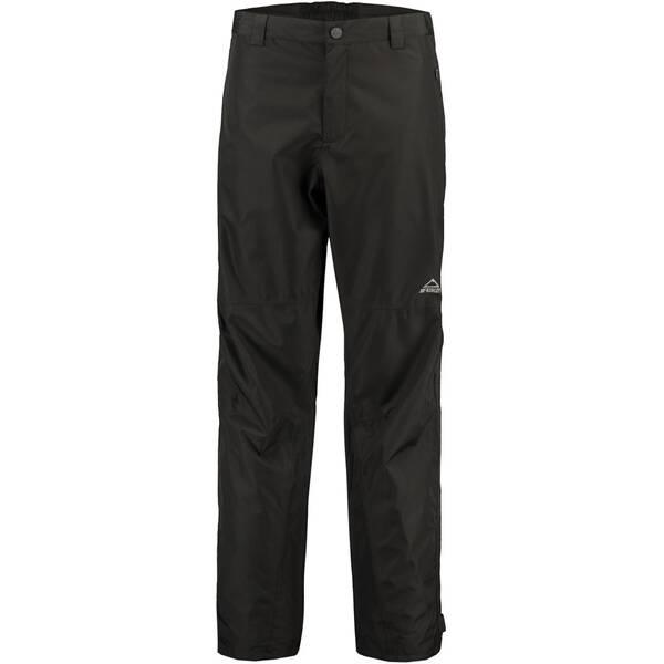 McKINLEY Herren Regenhose Carlow ux Active Fit | Sportbekleidung > Sporthosen > Regenhosen | Schwarz | Polyester | McKINLEY