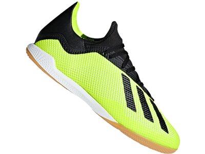 ADIDAS Fußball - Schuhe - Halle X Tango 18.3 IN Halle Weiß