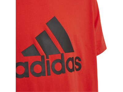 ADIDAS Kinder T-Shirt Logo Tee Rot