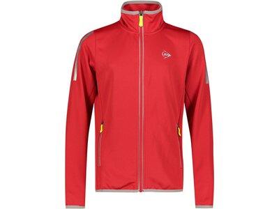 DUNLOP Mädchen Trainingsjacke Rot