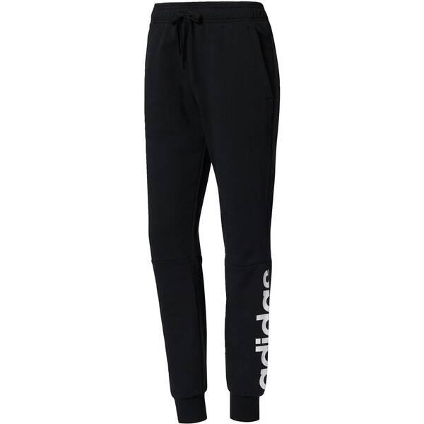 e17d454ae0fab9 ADIDAS Damen Trainingshose   Sweathose Essentials Linear Pant Black White