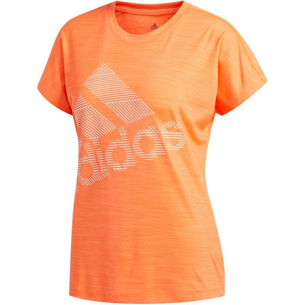 ADIDAS Damen Trainingsshirt Kurzarm