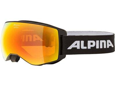 """ALPINA Ski- und Snowboardbrille """"Naator"""" Schwarz"""