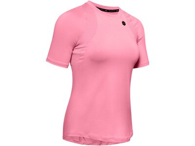 "UNDERARMOUR Damen Trainingsshirt ""Rush"" Kurzarm Pink"