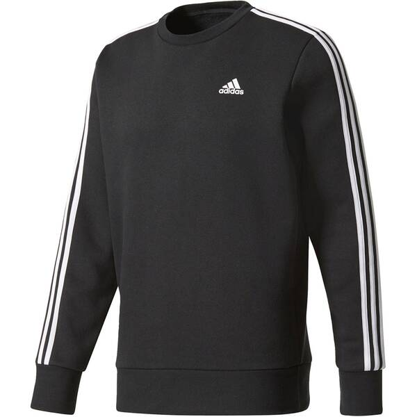 "ADIDAS Herren Sweatshirt ""Essentials 3-Stripes Crew Fleece"" Langarm"