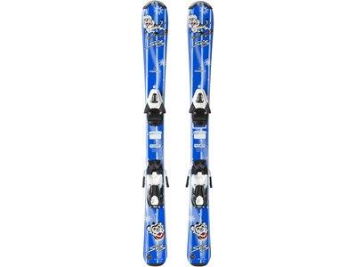 """TECNOPRO Kinder Skier """"Skitty Jr."""" inkl. Bindung """"TC45"""" Blau"""