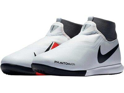 "NIKE Kinder Fußballschuhe Halle ""Nike Jr. PhantomVSN Dynamic IC"" Silber"