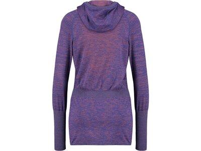 "ODLO Damen Laufshirt ""Millennium Yakwarm"" Langarm Blau"