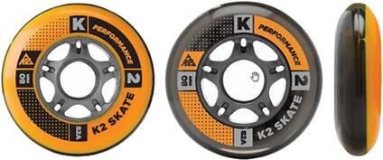 K2 Inliner Rollen Set 80mm / 82A 8er Pack